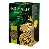 Чай Richard Royal Green зеленый 90 г