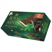 Шоколад Halloren Royal Mints с мятной начинкой 200 г